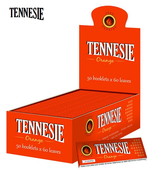 CARTINE TENNESIE CORTA 50pz ORANGE - C40 (Acc. 10,8)-PROV-A00111011-PVC 0,69 Euro