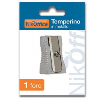 TEMPERINI METALLO 1 FORO    1pz BLISTERATO